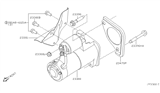 Related Parts for Nissan Starter Motor - 23300-EA200