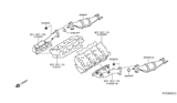 Diagram for Nissan Catalytic Converter - 208A3-EA200