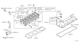 Diagram for Nissan Valve Cover Gasket - 13270-3Z000