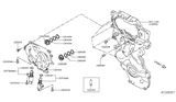Diagram for Nissan Altima Oil Filter - 15200-BV80A