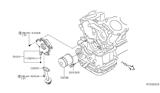 Diagram for Nissan Altima Oil Filter - 15050-3TA0A