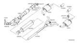 Related Parts for Nissan Altima Exhaust Pipe - 20010-3TA2A