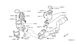 Related Parts for Nissan Pathfinder Catalytic Converter - 208A2-3JG0A