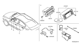 Related Parts for Nissan Altima Antenna - 25975-3TA0A