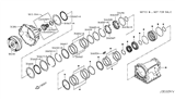 Related Parts for Nissan Bellhousing - 31301-1XR0E