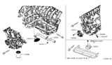 Diagram for Nissan Oil Filter - 15208-9E01A