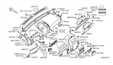 Related Parts for Nissan Glove Box - 68500-7S000