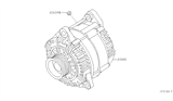 Related Parts for Nissan Titan Alternator - 23100-8S100