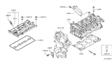 Related Parts for Nissan Versa PCV Valve - 11810-AR001