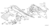 Diagram for Nissan Cube Brake Booster - D7210-1FC1A