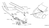 Related Parts for Nissan Wiper Pivot - 28800-3NF0A