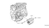 Related Parts for Nissan Sentra Alternator - 23100-3SH2B