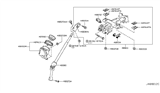 Related Parts for Nissan Quest Steering Column - 48810-1JA1A
