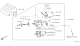 Diagram for Nissan Altima Throttle Body - 16119-8J101
