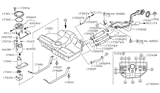 Diagram for Nissan Fuel Temperature Sensor - 22630-5S700