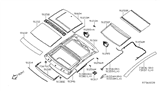 Diagram for Nissan Sunroof - 91602-9N02A