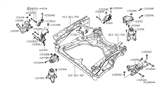 Related Parts for Nissan Maxima Engine Mount - 11270-9N00B