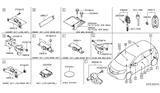 Related Parts for Nissan Versa Transmitter - 28268-1HJ1A