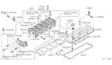 Diagram for Nissan Valve Cover Gasket - 13271-F4500