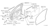 Related Parts for Nissan Door Check - 80430-3S500