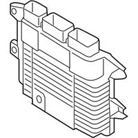 Nissan 23703-3SA2A BLANK ENGINE CONTROL MODULE