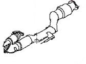 Nissan Murano Exhaust Pipe - 20020-1AA2A