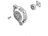 Nissan 350Z Alternator Case Kit - 23118-JK01A