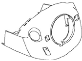Nissan Steering Column Cover - 48470-3TA1A