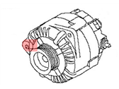 Nissan Maxima Alternator - 23100-9UA0A
