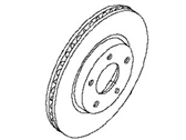 Nissan Brake Disc - 40206-JA00A