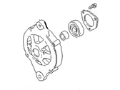 Nissan Datsun 810 Alternator Case Kit - 23118-W2500