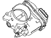 Nissan 16119-3TA0A Throttle Chamber Assembly