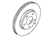 Nissan Leaf Brake Disc - 40206-3NA0A