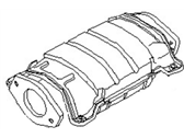 1979 Nissan 200SX Catalytic Converter - 20802-P8100
