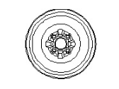 Nissan Quest Spare Wheel - 40300-ZM00A