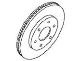 Nissan Brake Disc - 40206-ZC01A