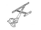 Nissan Versa Note Window Regulator - 80720-3BA5A