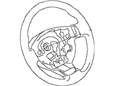 Nissan Steering Wheel - 48430-JA000