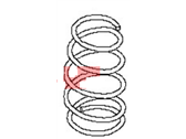 Nissan Coil Springs - 54010-ZN90A