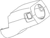 Nissan Hardbody Pickup 1995 1997 Steering Column Cover 48470 1s702