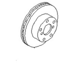 Nissan Leaf Brake Disc - 40206-4BT0B