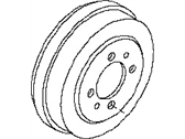 Nissan Brake Drum - 43206-ET00A