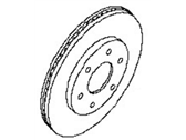 Nissan Brake Disc - 40206-EA00A