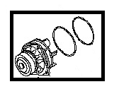 Nissan Water Pump - B1010-JK20A