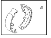 Nissan Parking Brake Shoe - 44060-4M425
