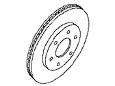 Nissan Brake Disc - 40206-ZC00A