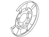 Nissan 370Z Brake Backing Plate - 44020-JL06A