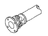 Nissan Drive Shaft - 37000-JM100