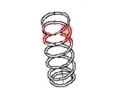 Nissan Coil Springs - 54010-ZR40A