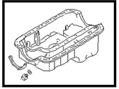 Nissan 300ZX Oil Pan - 11110-01P00